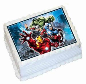 Avengers A4 licensed topper