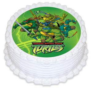 Ninja Turtles 16cm Round licensed Topper