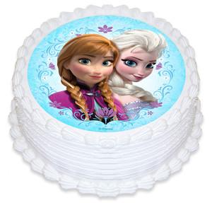 Frozen 16cm Round licensed topper