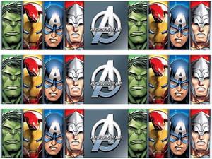 Avengers edible cake strips