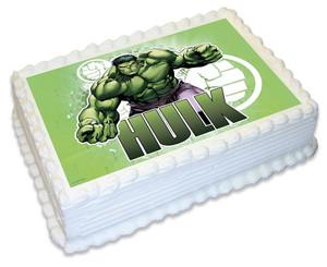 Hulk A4 licensed topper
