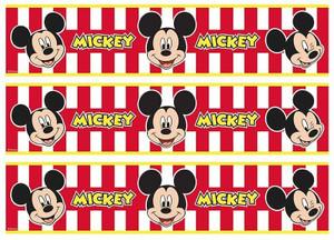 Mickey Mouse edible cake strips