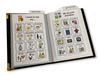 Compact Adult Communication Book comes with pre-made boards to insert into album included