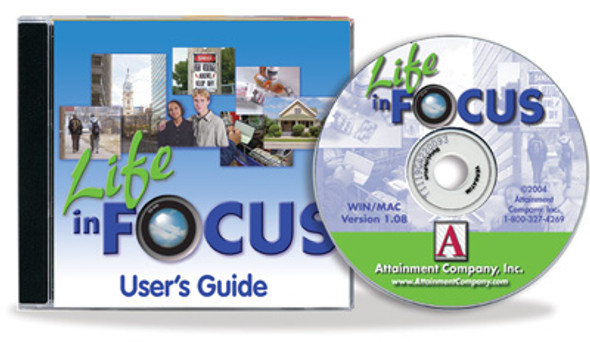 Life in Focus Photo CD includes 4,800 color photos as JPGs that are Win/Mac compatible.