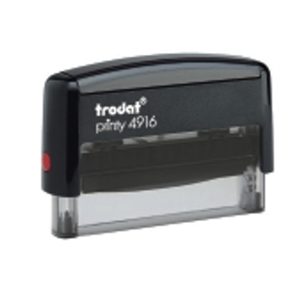 Large self-inking stamp ideal for signatures