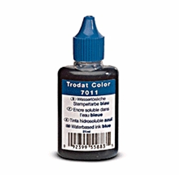 Ink refill bottle for self-Inking stamps
