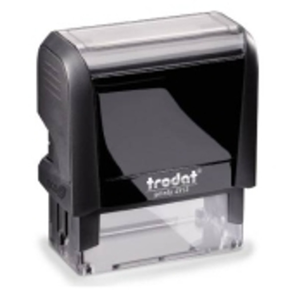 Student Name Stamps come with a black case, sizes vary from small to extra large