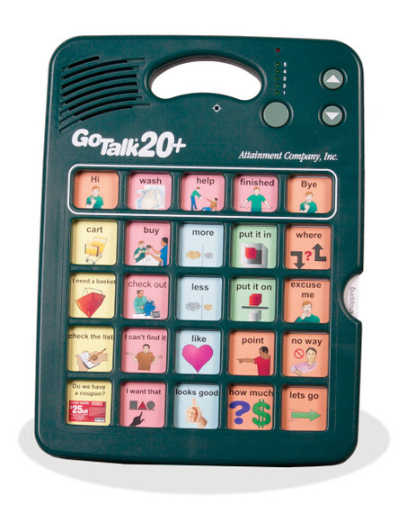 GoTalk 20+ Lite Touch Communication Device