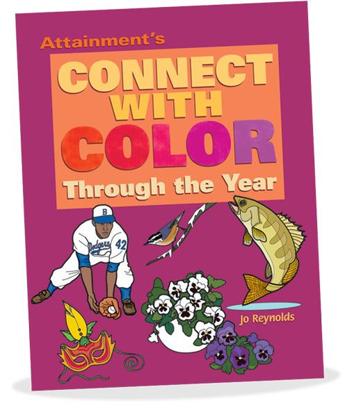 Connect with Color Adult Coloring Book Cover
