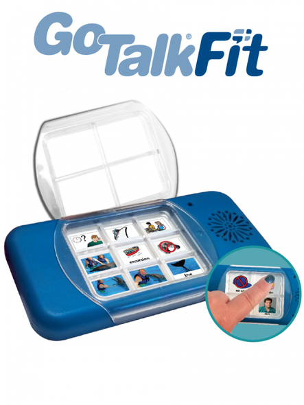 New GoTalk Fit is an ideal portable, lite tech communication device