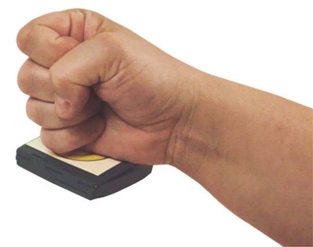 Our Personal Talker is easy to deploy as a portable call button using your fist or palm.