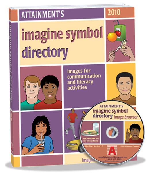 Adult appropriate Imagine Symbols software CD.