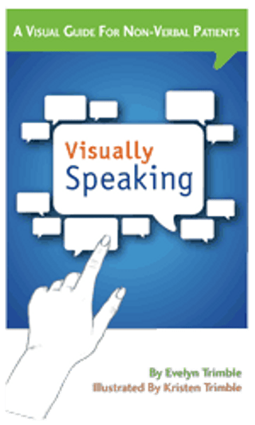 Cover Visually Speaking Guide for Non-verbal Patients