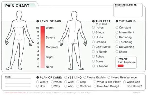 Vidatak EZ Medical Word Board with Marker  |  English