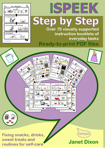 ISPEEK Step by Step Visual Instruction DVD cover