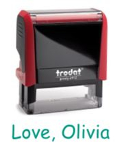 Personalized Stamps Enable Everyone to Sign Cards & Gifts!