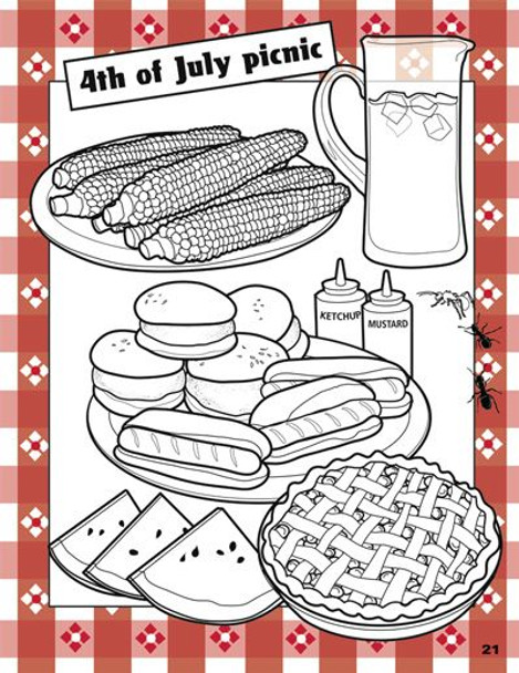 Connect with Color Adult Coloring Book Holiday Page