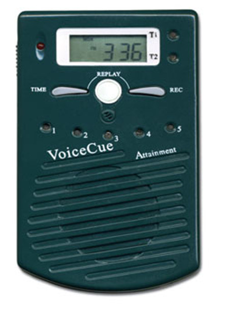 Voice cue auditory cuing device