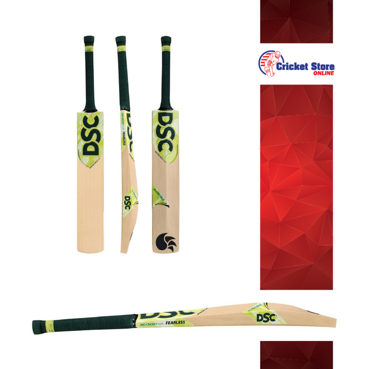 DSC Invincible Cricket Bats 2020