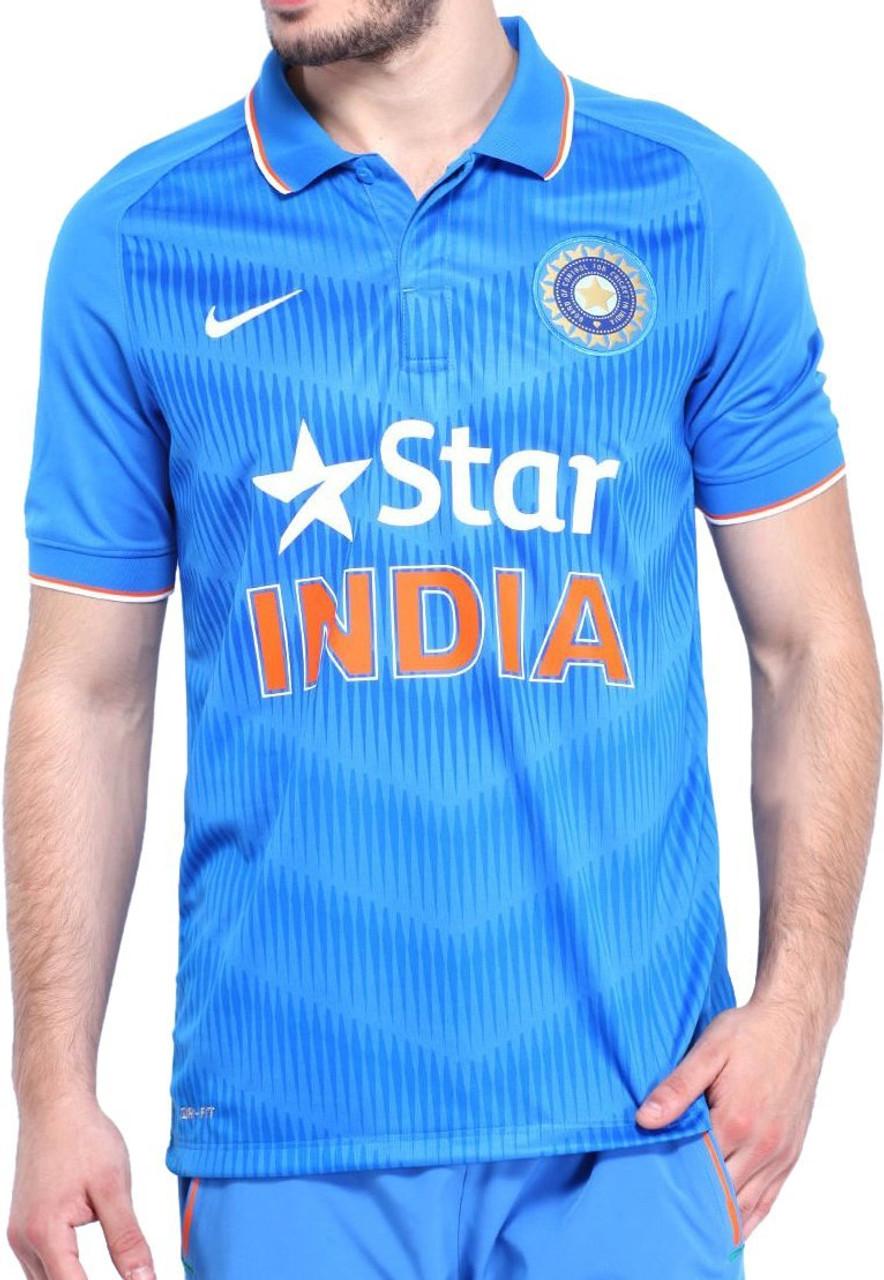 Nike Team India Original Odi Jersey Old Version