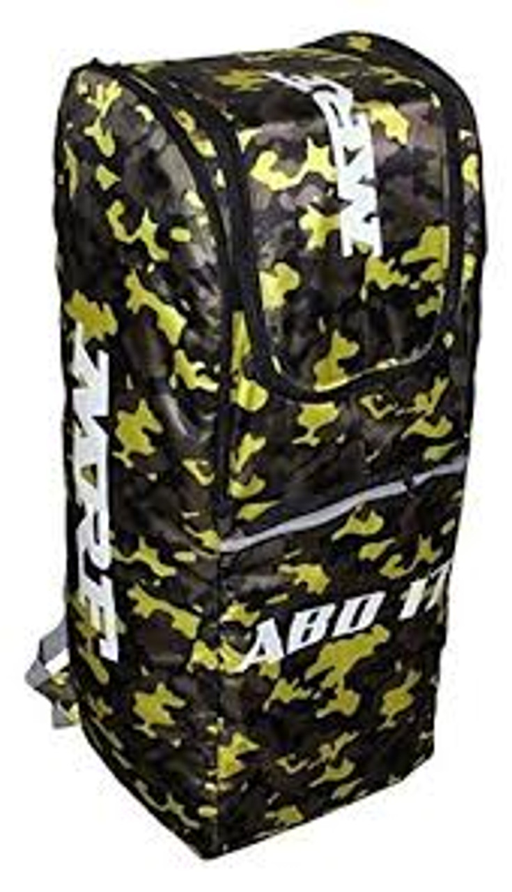 MRF ABD 17 Cricket Kit Bag Duffle with Wheelie 2018