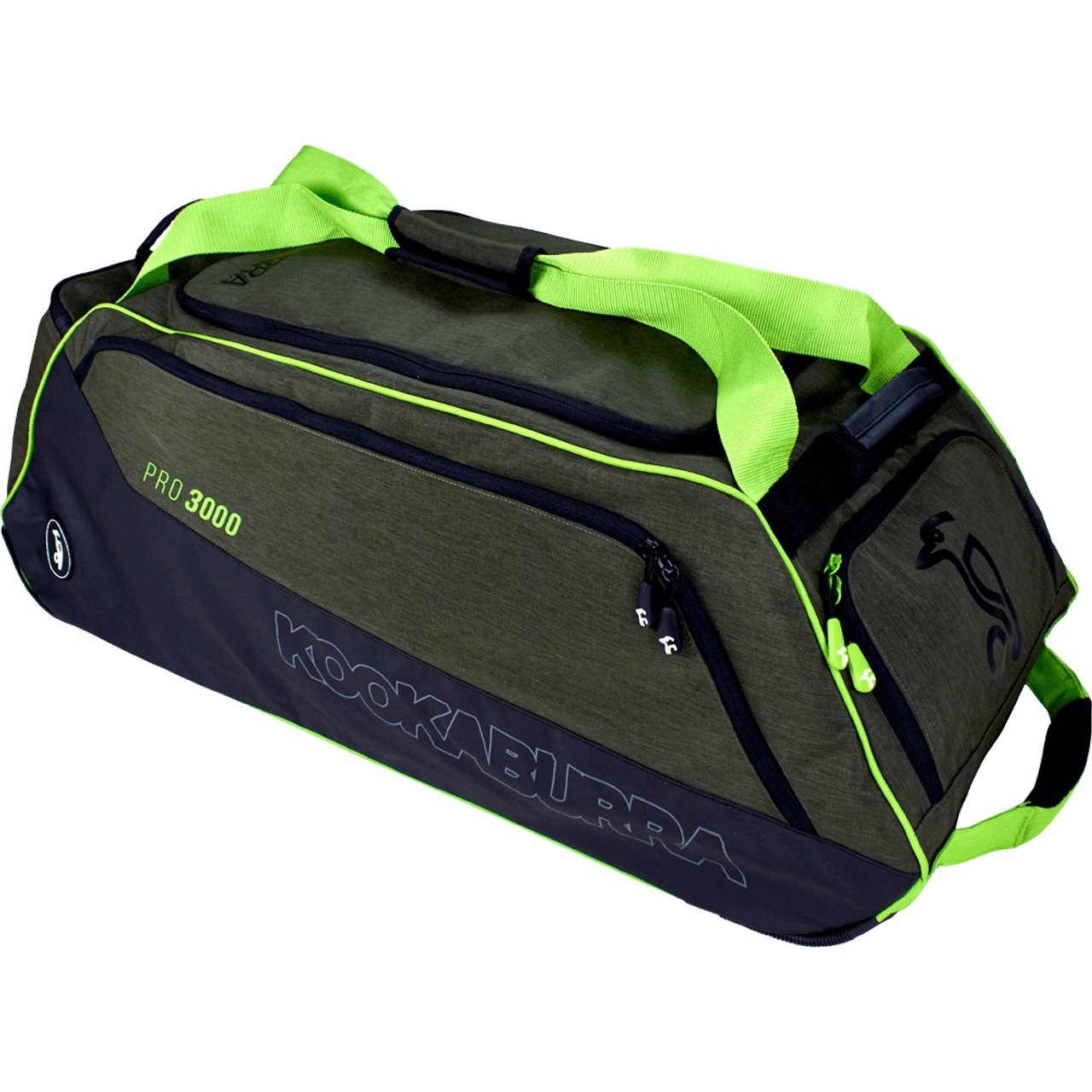 fa1cb0505 Kookaburra Pro 3000 Wheelie Cricket Kit Bag - Khaki 2019