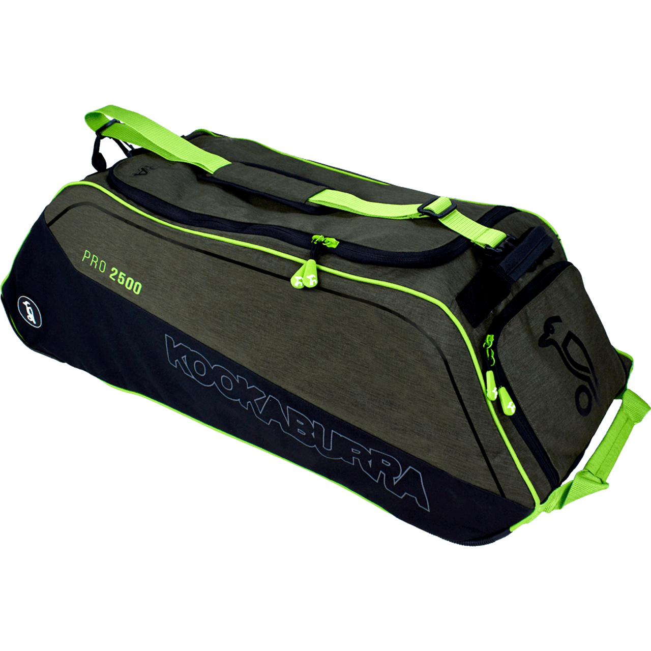 344fe1206 Kookaburra Pro 2500 Wheelie Cricket Kit Bag - Khaki 2019