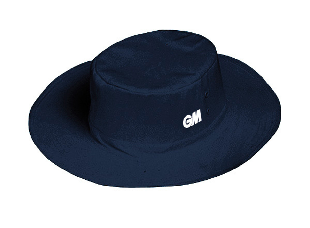 00b61857 Navy blue floppy panama GM cricket hat