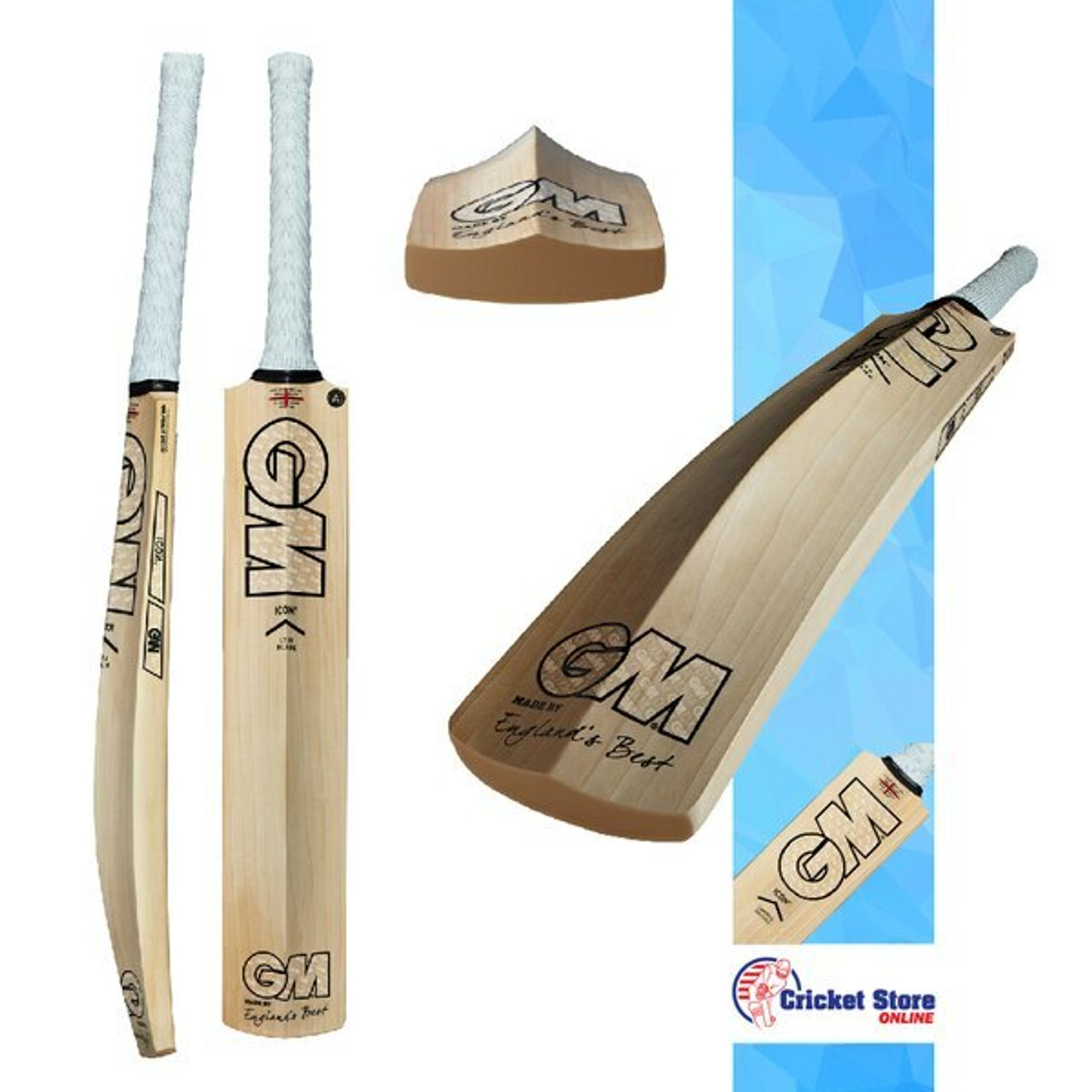 GM Icon Cricket Bats 2021