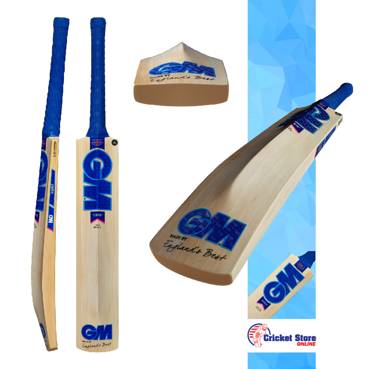 GM Siren Cricket Bats 2020