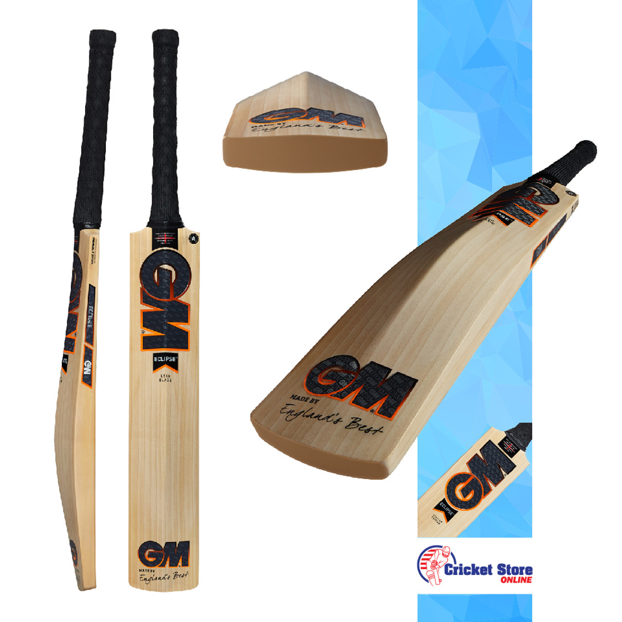 GM Eclipse Cricket Bats 2021
