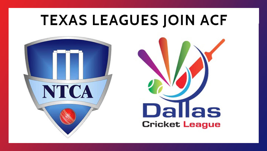 Texas Leagues Join Acf Cricket Store Online