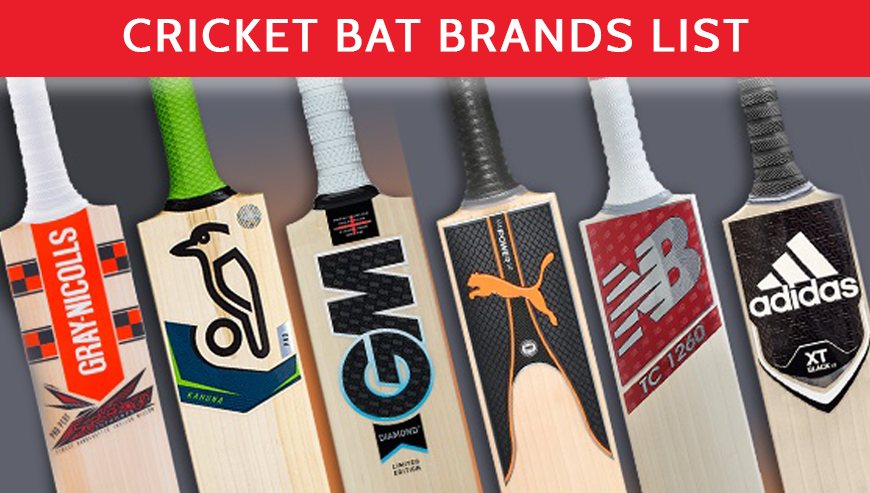 All Cricket Bat Brand List Online In USA - Cricket Store Online