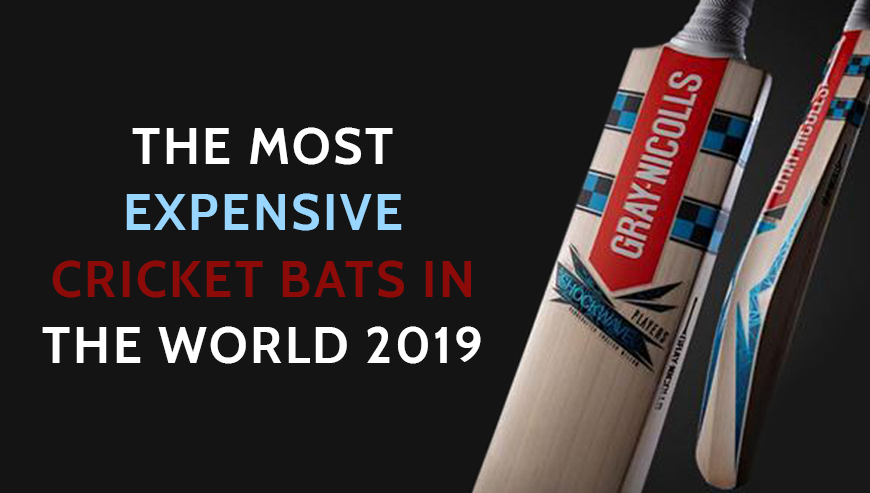 Checkout The Most Expensive Cricket Bats In The World 2019