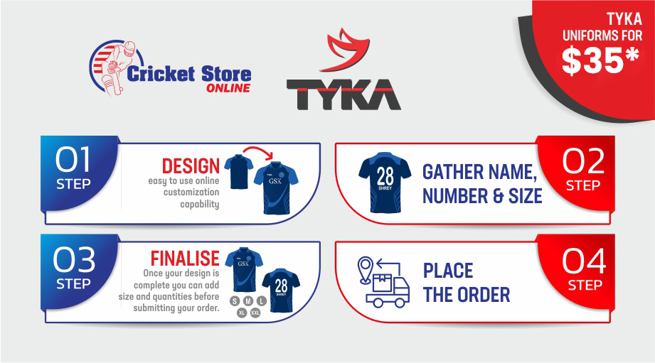 Design Your Custom Cricket Uniform Cricket Store Online
