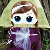 Anna Doll Peeker Applique Design