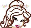 Beauty Peeker Applique Design