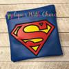 Super Hero Applique Design