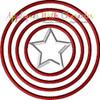 America Hero Applique Design