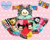 Daizy Duck Tsum Tsum Applique Design