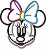 Miss Mouse Sally Face Halloween Applique Design