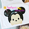 Mr Mouse Tsum Tsum Applique Design