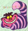 Alyce Cheshire Cat Applique Design