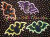 Mr Mouse Bat Halloween Applique Design