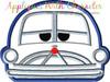 Cars Doctor Car Peeker Applique Design