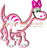 Good Dinosaur Girl Applique Design