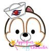 Cruise Chip Tsum Tsum Applique Design