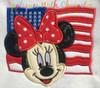 American Flag Miss Mouse  Applique Design