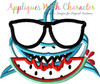 Boy Shark Applique Design