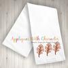 Fall Leaf Trio Sketch Embroidery Design